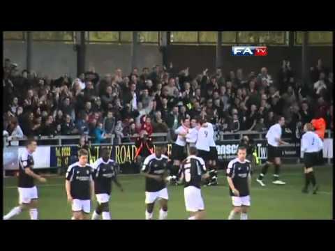 Dartford 1-1 Port Vale - The FA Cup 1st Round - 06/11/10
