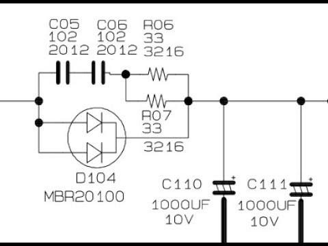 Electrónica y Pc: Fuente conmutada samsung BN44-00115C