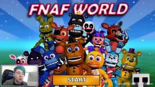 FNAF World WITHERED FREDDY S POWERFUL GLITCH 2