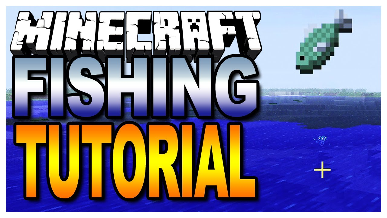 Minecraft Fishing Tutorial (Map Giveaways in the Description)