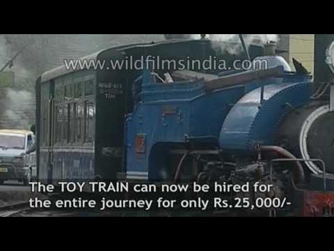 Famous Toy Train of Darjeeling - Ghoom