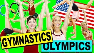 GYMNASTICS OLYMPICS CHALLENGE!! (YouTuber Battle)