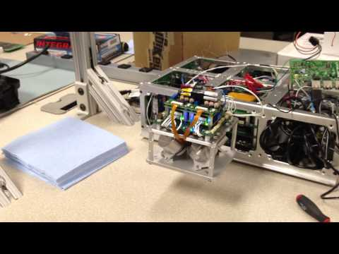 6U Cubesat Four-Axis Reaction Wheel Array Demonstration
