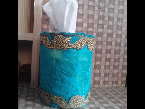 DIY How To Make Paper Towel Holder Using Recycled Car