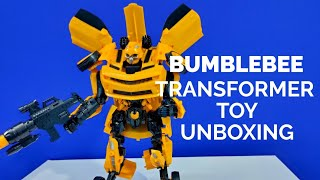 Bumblebee Transformer Toy Unboxing