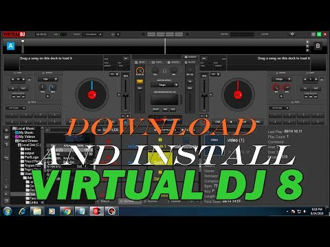 How to dwonload virtual dj 8