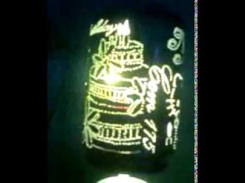 Đèn ngủ làm bằng lon bia 6