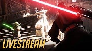 Masakra na Naboo w Star Wars Battlefront II - LIVESTREAM
