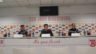 Pressekonferenz SSV Jahn Regensburg – 1. FC Magdeburg 1:1 (0:0)