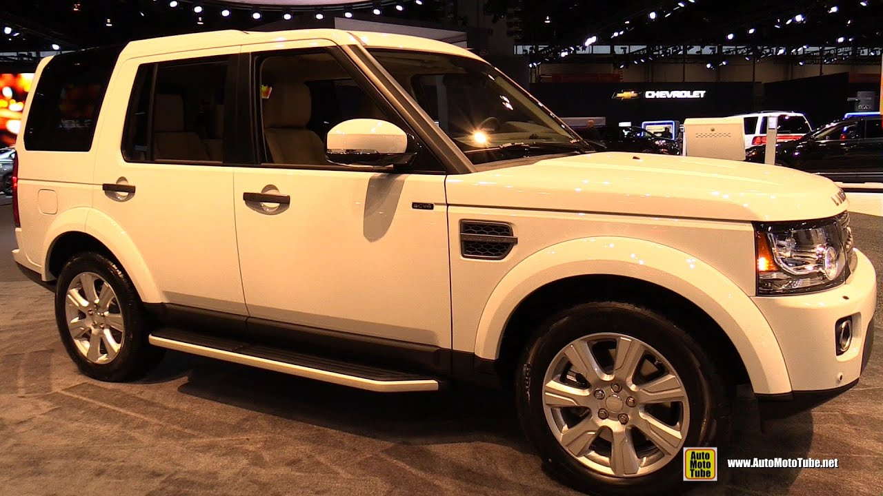 2012 land rover lr4 hse exterior and interior walkaround 2015 chicago auto show youtube