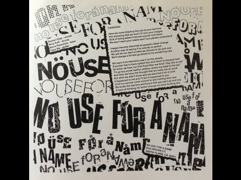 No Use For A Name - Full Album of Songs From Compilations (1987 - 2010 B Sides and Rarities)