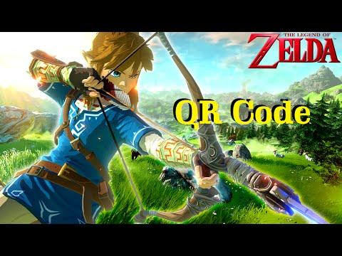 Animal Crossing New Leaf Qr Code Zelda