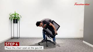 DIY  How to install Featherlite Amaze MB Chair