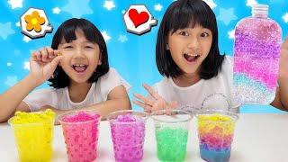 ぷよぷよボールをクラッシュして可愛くて綺麗なジェリードームを作っちゃおう♪himawari-CH