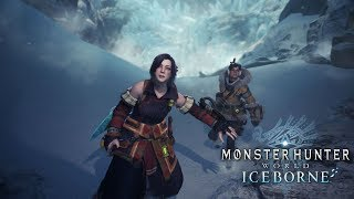 Monster Hunter World Iceborne Second Investigation and Battle with Banbaro Gameplay!!