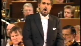 Plácido Domingo and Deborah Polaski in Concert, 1993, Berlin. (Barenboim)