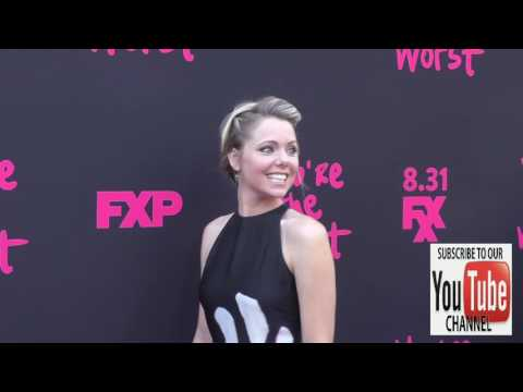 Collette Wolfe at the Premiere Of FXX's You're The Worst Season 3 at NeueHouse in Hollywood