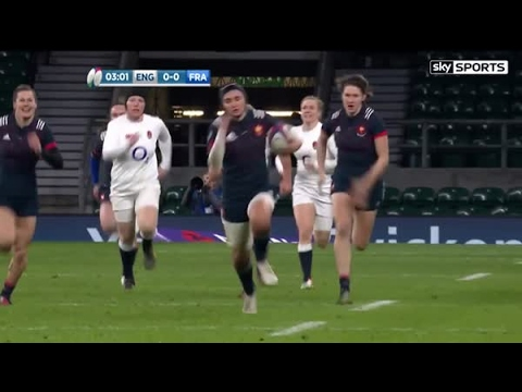 Highlights: England Women 26 France Women 13