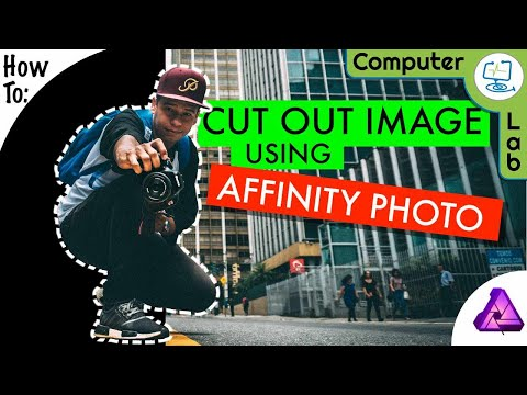 How to - Cut Out a Image Using Affinity Photo