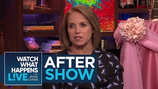 After Show: Katie Couric's Admiration For Arianna Huffington | WWHL