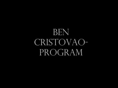 Ben cristovao program-Text