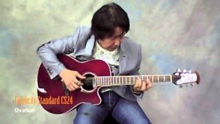 [Acoustic Guitar Book 39]New Model Impression : Ovation Celebrity Standard CS24