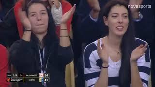 Ολυμπιακός-Χίμκι: 109-98 (HL)