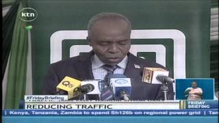 The government unveils high capacity buses in Nairobi