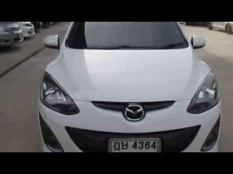 รถเก๋ง มือสอง รถราคาถูก ยี่ห้อ Mazda (มาสด้า 2) รุ่น Mazda 2 สีขาว ปี 2010 #UC34