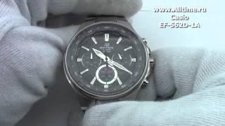 Мужские японские наручные часы Casio Edifice EF-562D-1A