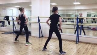 Anna Shcherbakova and Alexandra Trusova dance training