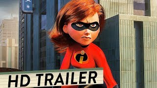 DIE UNGLAUBLICHEN 2 - THE INCREDIBLES 2 Trailer Deutsch German (HD)