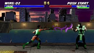 Ultimate Mortal Kombat 3 (Arcade) - JADE - (TORRE MASTER)【TAS】