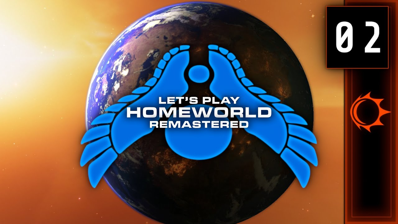 Lets Play | Homeworld Remastered #02 - Trouble In The Outskirts