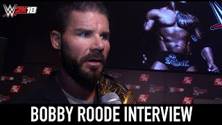 WWE 2K18 at SummerSlam - Bobby Roode Interview