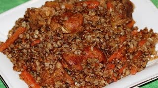 Гречка палов плов из гречки  Узбекская кухня
