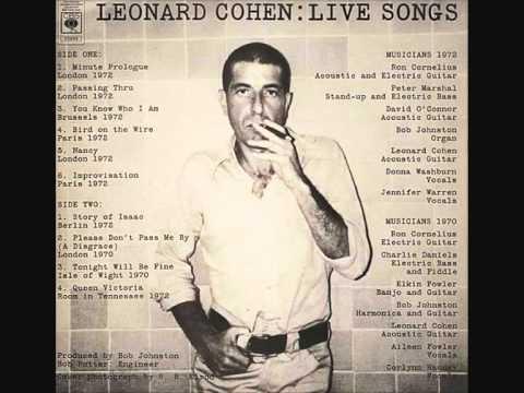 Leonard Cohen - Passing Through