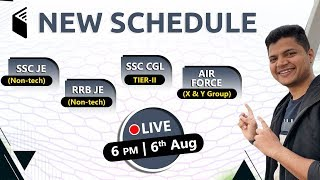 6:00 PM - wifistudy 🔰 New Classes Schedule 🔴 Dinesh Sir LIVE on 6th August