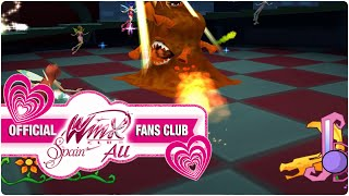 Winx Club PC Game - 19. Winx Club battle against a horrible monster