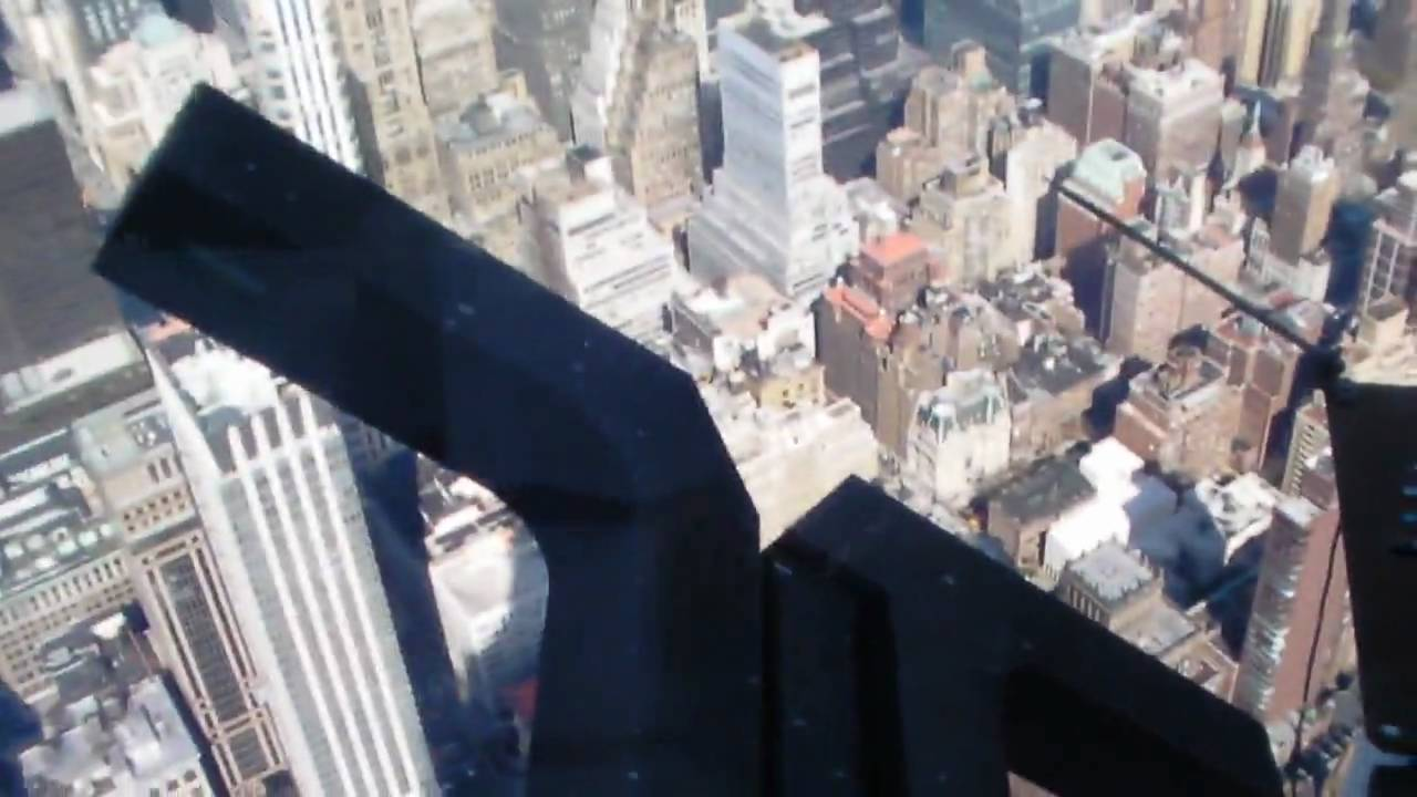 jumping off the empire state building 4 1 10 youtube