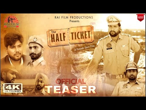 The Half Ticket|| Official Teaser || A...