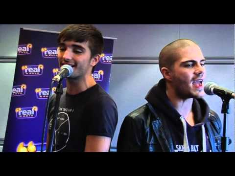 The Wanted - Lightning LIVE (Real Radio Band in the Boardroom)