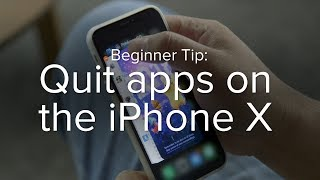 How to quit apps on the iPhone X | Macworld Beginner Tip thumbnail