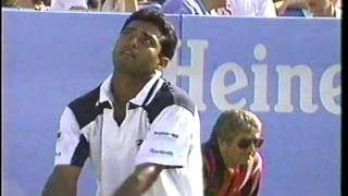 1996 US Open Agassi Paes 2nd Round