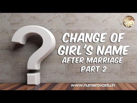 Double Surname Effects | Name Numerology | Changing last name | Name Change After Marriage
