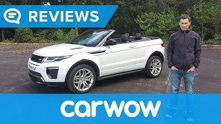 Range Rover Evoque Convertible 2018 SUV in-depth review | Mat Watson Reviews