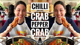 CHILLI CRAB • PEPPER CRAB | SINGAPORE PART 3