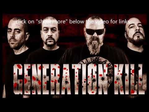 GENERATION KILL in the studio for new 2018 album + new cover Bloodstains