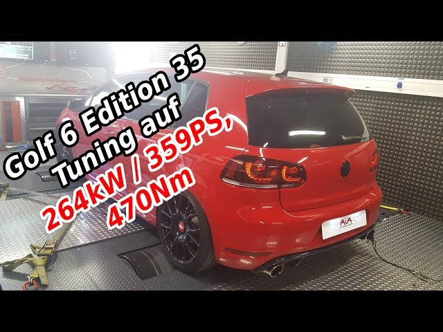 VW Golf 6 GTI ED 35 mit 264kW / 359PS, 470Nm Stage 3 Tuning- A&A