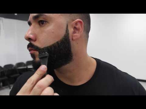 HOW TO DYE BEARD   BIGEN DYE   BY WILL PEREZ